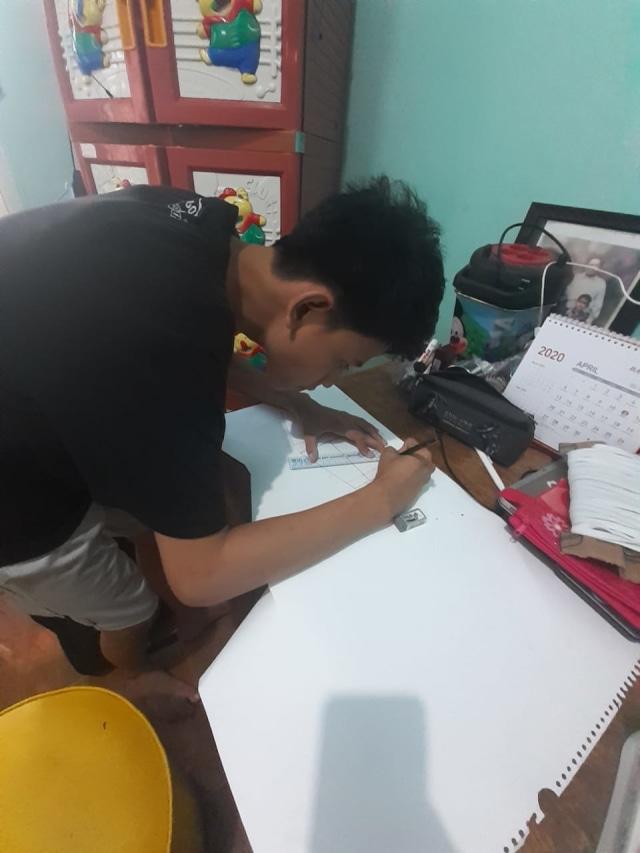 Saat Siswa SLB Tuli Jadi Relawan Pembuat Masker Kain Bantu Lawan Corona (8086)