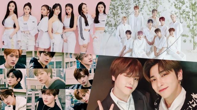 Idola K-Pop yang akan debut di bulan April