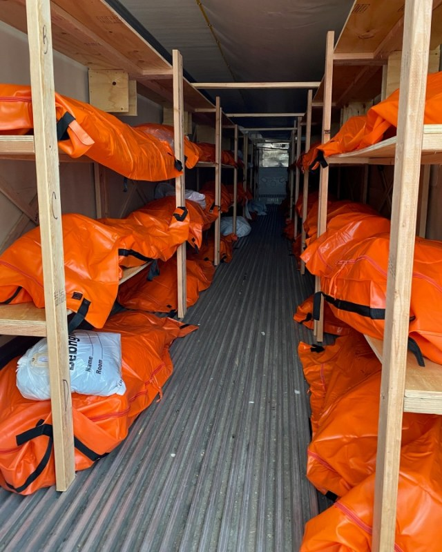 Puluhan Jenazah Pasien Corona Menumpuk di RS Wyckoff, AS