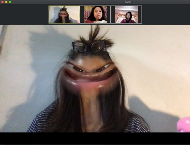 Cara Pakai Filter Snapchat di Video Conference Zoom, Google Hangouts, Skype (103248)