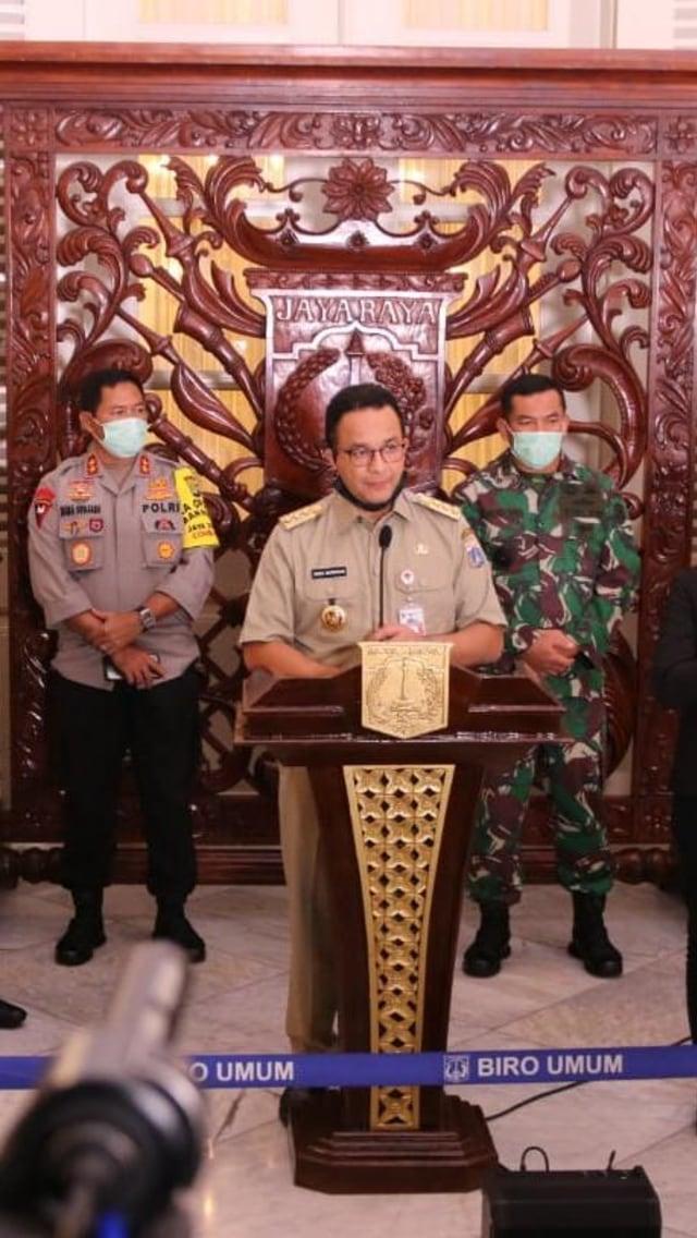 Pernyataan Lengkap Anies soal Pemberlakuan PSBB di Jakarta (161030)