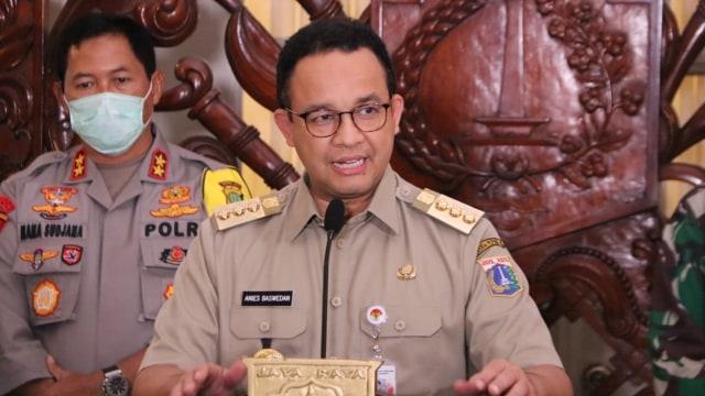 Anies: Pemerintah Pusat Dukung PSBB di Jakarta (232383)