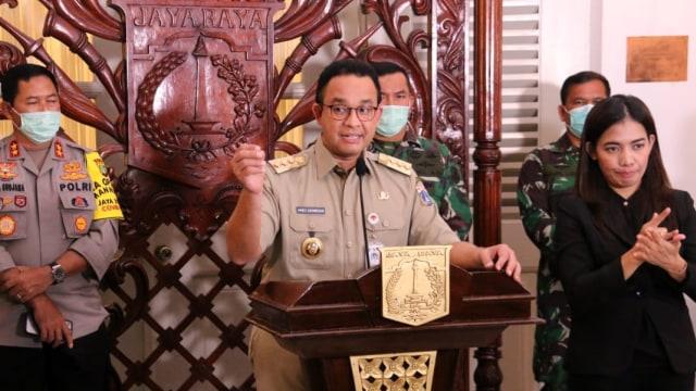 Pernyataan Lengkap Anies soal Pemberlakuan PSBB di Jakarta (161031)
