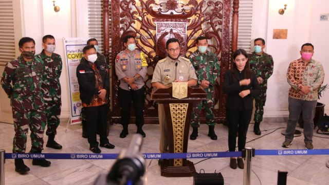 Pernyataan Lengkap Anies soal Pemberlakuan PSBB di Jakarta (161032)