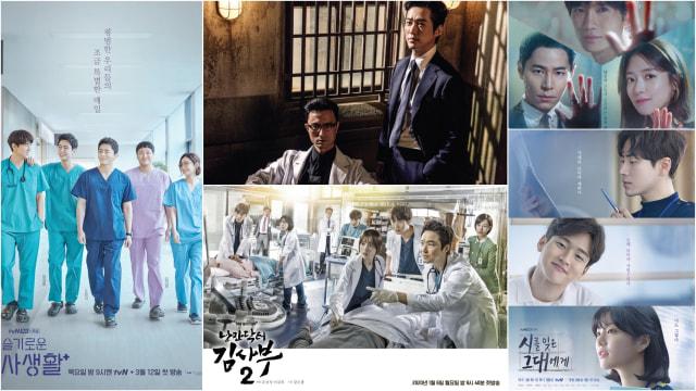 5 Rekomendasi Drama Korea Terbaru Bertema Medis