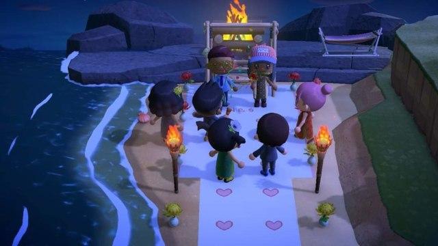Game Animal Crossing Pernikahan Corona