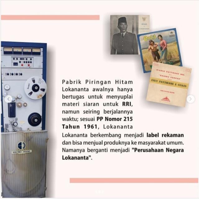 Glenn Fredly dan Lokananta, Perusahaan Rekaman Pertama di Indonesia  (381516)
