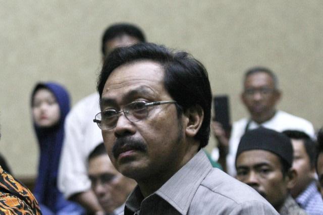 Vonis Nurdin Basirun: Penjara, Hak Politik Dicabut dan Uang Pengganti Rp 4 M (36509)