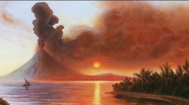 14 Fakta Menarik Saat Gelegar Gunung Tambora Mengguncang Dunia Tahun 1815 (156654)