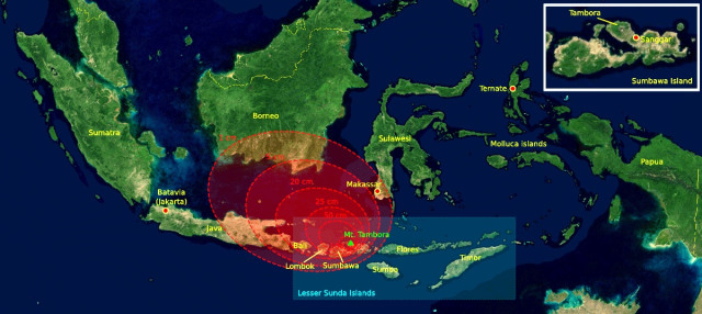 14 Fakta Menarik Saat Gelegar Gunung Tambora Mengguncang Dunia Tahun 1815 (156663)