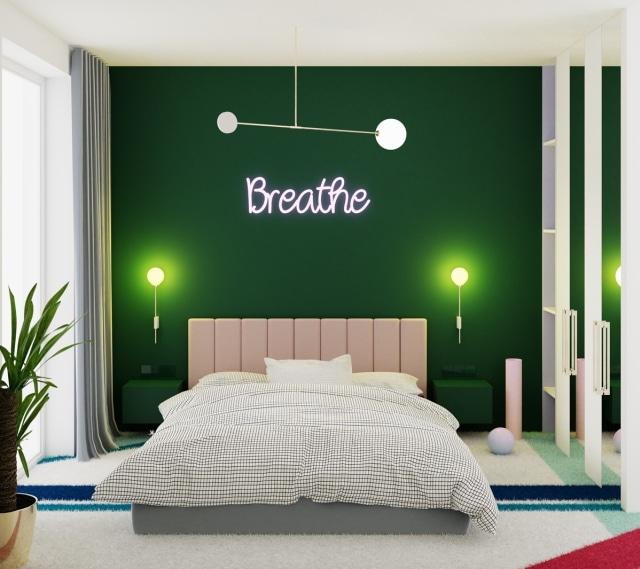 5 Inspirasi Kamar Tidur Modern Minimalis Bernuansa Hijau Kumparan Com