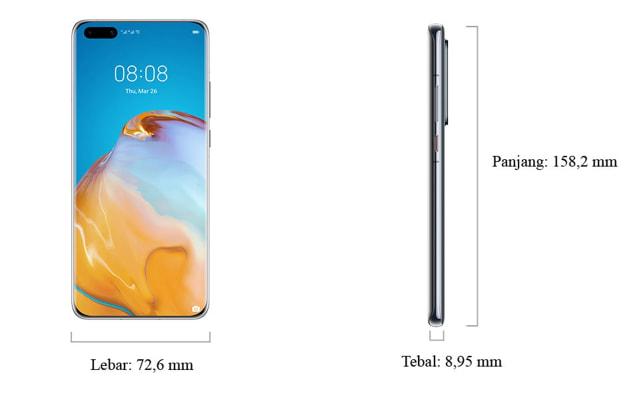 Huawei P40 Pro Resmi Rilis di Indonesia, Harga Rp 14,5 Juta (72587)