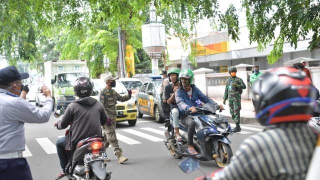 Simak Aturan Berkendara Sepeda Motor Selama PSBB Ketat di Jakarta (764024)