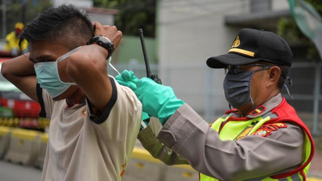 Kata Polisi Soal Blangko Teguran PSBB, Pelanggar Bakal Didenda? (620810)