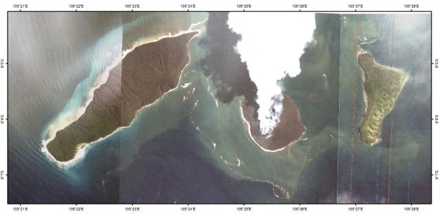 Begini Penampakan Erupsi Gunung Anak Krakatau dari Citra Satelit (832002)