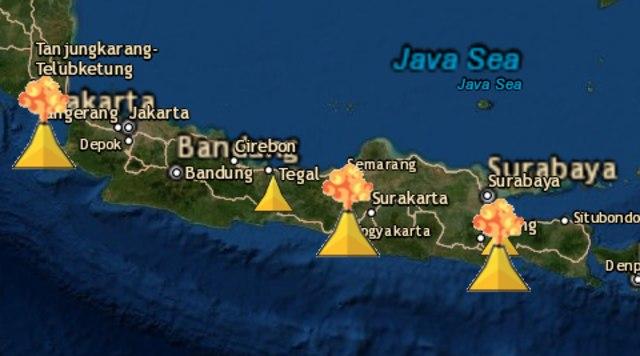 Waspada, 5 Gunung Api di Jawa Berstatus Level II (145816)
