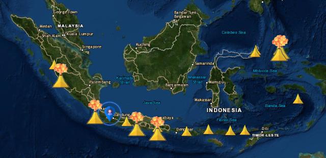 Apakah Erupsi Gunung Anak Krakatau Ada Kaitannya dengan Erupsi 5 Gunung Lainnya? (273804)