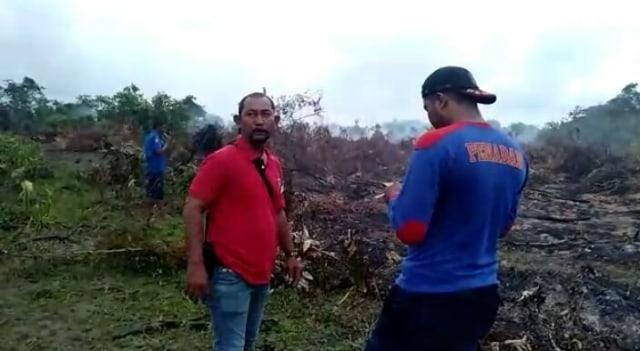 2 Hektare Lahan Gambut di Aceh Utara Terbakar (212232)