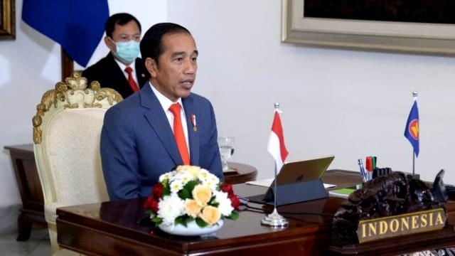 Presiden Jokowi KTT ASEAN Plus Three