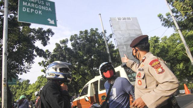 Simak Aturan Berkendara Sepeda Motor Selama PSBB Ketat di Jakarta (764023)