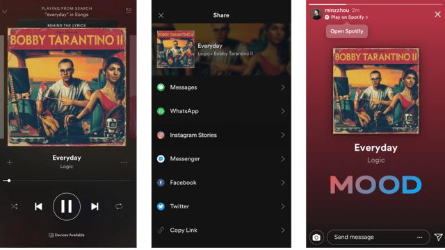 Cara Share Lagu Spotify Ke Instagram Stories Kumparan Com
