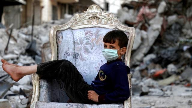 2 Pengungsi Suriah di Kamp Yordania Terjangkit Virus Corona (515550)