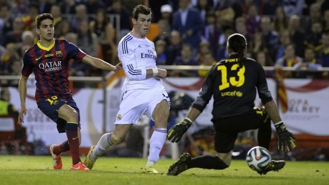 Gol Gareth Bale di Final Copa del Rey 2014 Masih Bikin Marc Bartra Trauma (737774)