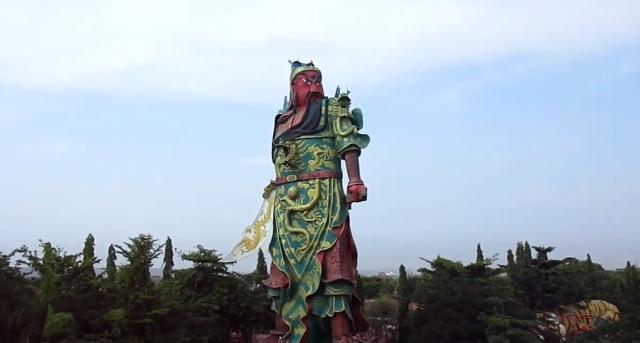 'Guan Yu' Sang Dewa Kwan Kong, Sosok Patung Dewa Tertinggi di Asia Tenggara (33688)
