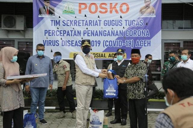 Para Keuchik di Kecamatan Nibong, Aceh Utara Sepakat Tolak Bantuan COVID-19  (43433)