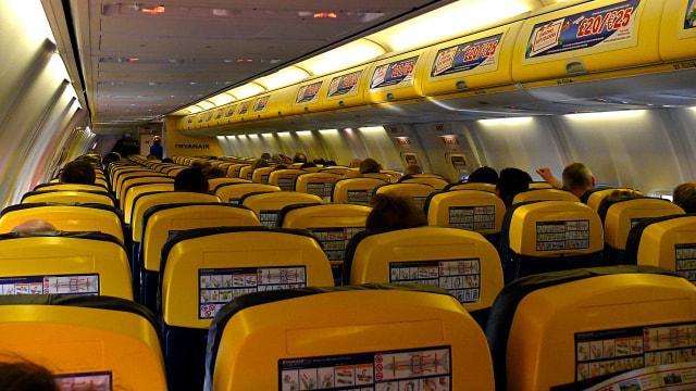 Alasan Mengapa Pesawat Tak Gunakan Warna Kuning Dalam Interior Kabin (166491)