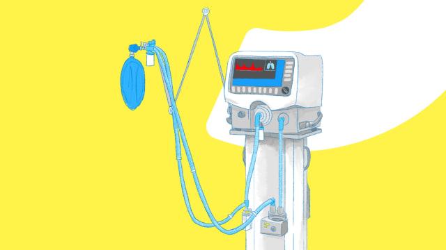 Ada Keluhan Pasien Corona Kesulitan Cari Ventilator, Ini Respons Satgas (103478)
