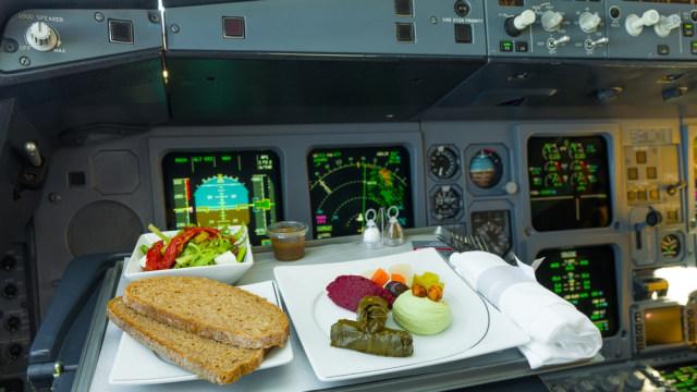 Agar Tak Keracunan Bareng, Pilot dan Co-Pilot Makan Menu Berbeda Saat Terbang (32525)