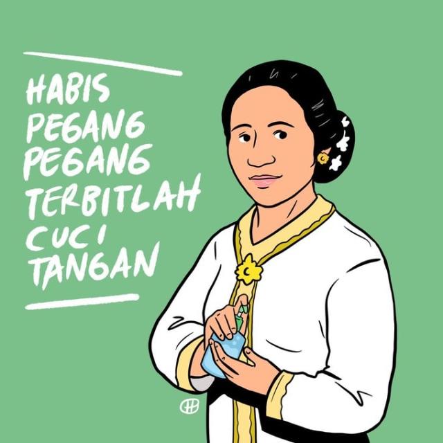 Sederet Poster Unik Peringatan Hari Kartini Bikinan