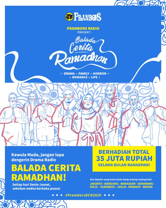 Balada Cerita Ramadhan Siap Mengudara Kembali di Prambors dengan Konsep Baru (139110)