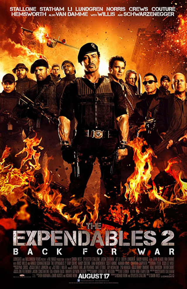 Poster film The Expendables 2
