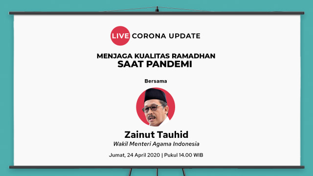 Live Corona Update Eps. 18 - Bersama Zainut Tauhid