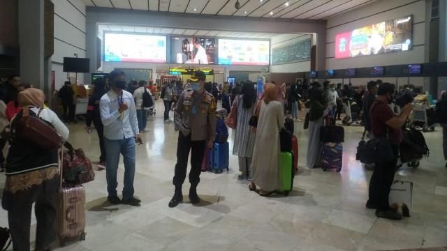 Kondisi terminal 2 domestik Bandara Soekarno Hatta