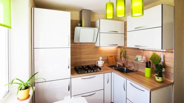 4 Kesalahan Dekorasi Yang Membuat Dapur Kecil Terlihat Makin Sempit Kumparan Com