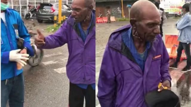 Viral Kakek di Timika Keluar Rumah Menangis karena Tak Dapat Bantuan: Saya Lapar (135449)