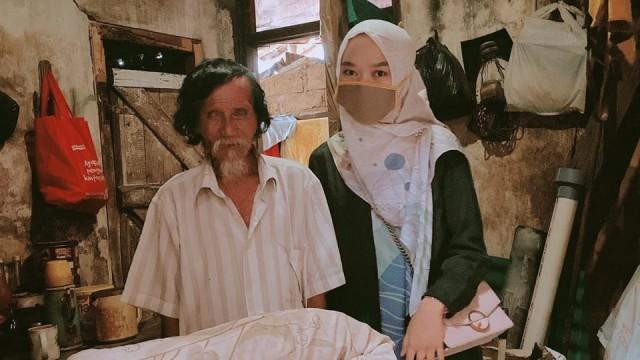 Kisah Penjual Donat Tinggal di Rumah Kumuh Dapat Donasi Rp 70 Juta dalam Sehari (10360)