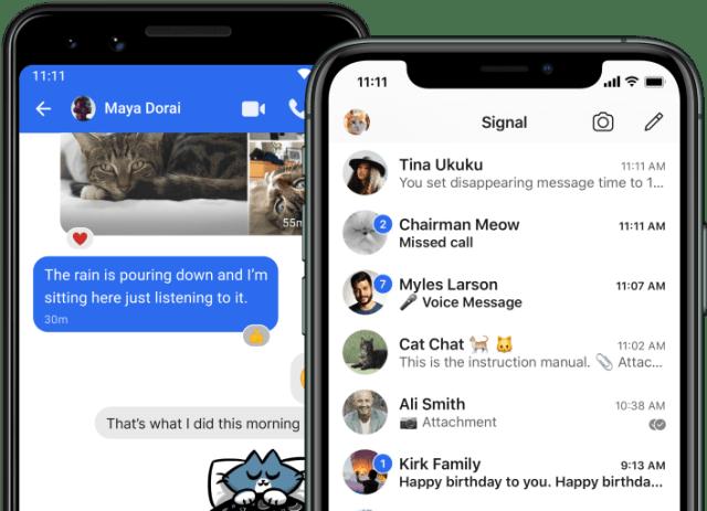 WhatsApp Rentan Diretas, Ini Alternatif Aplikasi Chatting Lain (205616)