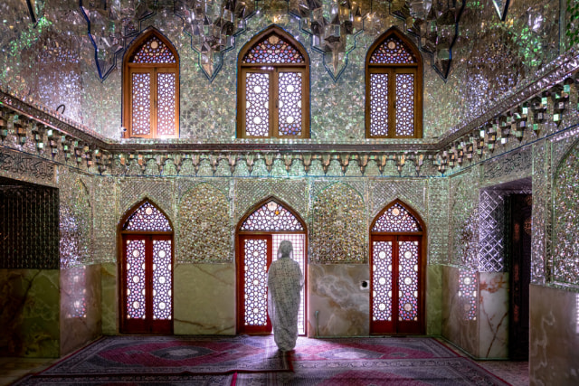 Menilik Masjid Ratusan Tahun di Iran yang Disulap Jadi Tempat Produksi Masker (100690)