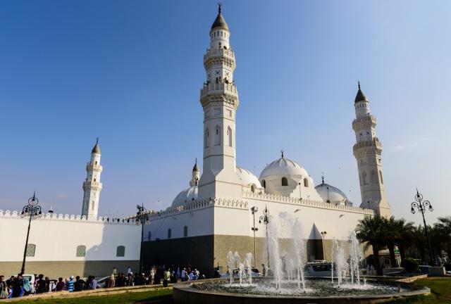 Menengok Masjid Pertama di Dunia yang Dibangun Nabi Muhammad SAW Saat Berhijrah (41451)