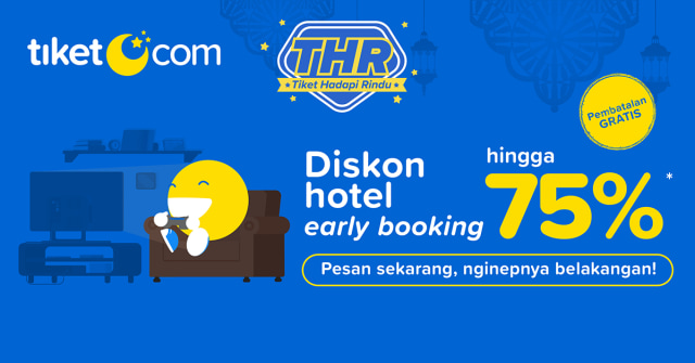 Rindu Staycation? tiket.com Tawarkan Promo Diskon Hotel Hingga 75 Persen (33018)