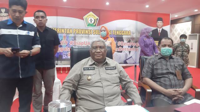 Gubernur Ali Mazi Benarkan Info soal 500 TKA asal China Akan Masuk ke Sultra (45657)