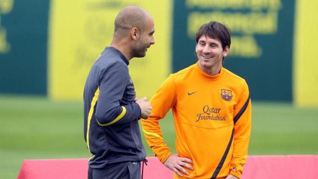 Apakah Pep Guardiola Ingin Lionel Messi ke Man City? Ini Jawabannya (199514)