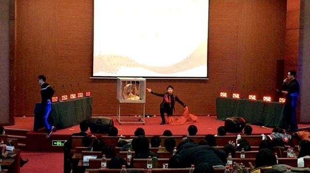 Jusin Clasic, Pesulap Muda Indonesia Pertama yang Kenalkan Seni Bian Lian (119926)