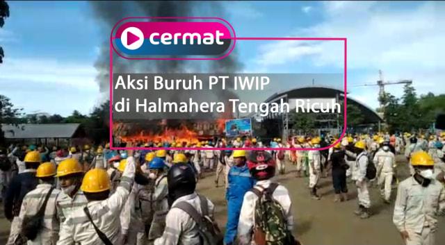 Peringati Hari Buruh, Ini Tuntutan FPB untuk PT IWIP di Halmahera Tengah (210909)