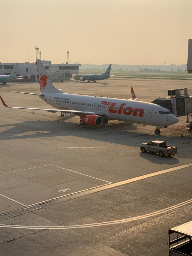 PTR, Thai Lion Air beroperasi kembali, pesawat lion air