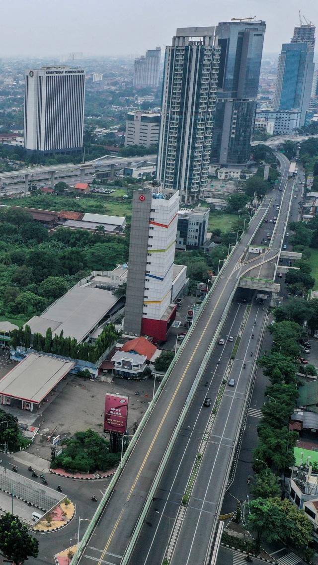 3 Hari PSBB Jakarta, Volume Lalu Lintas Turun 20% (250769)